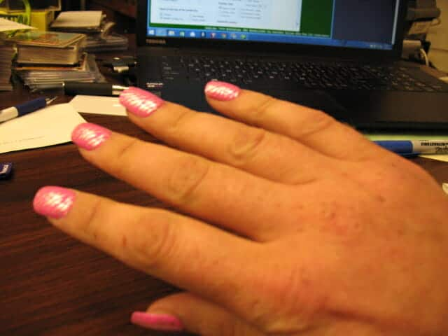 the nails of krissy